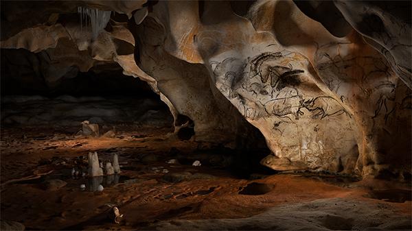Chauvet-Pont d'Arc Cave, France. Rup'Art Productions