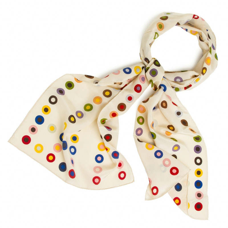 Dot scarf from the Getty Store
