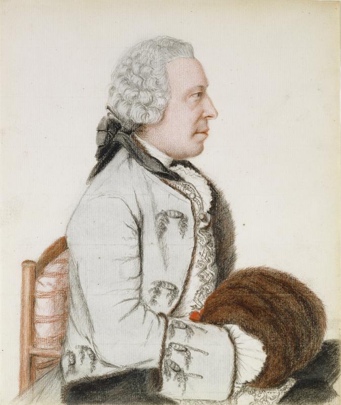 Portrait of Charles Benjamin de Langes de Montmirail, Baron de Lubieres / Liotard