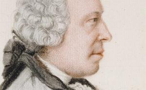 Detail of face of Portrait of Charles Benjamin de Langes de Montmirail, Baron de Lubieres / Liotard