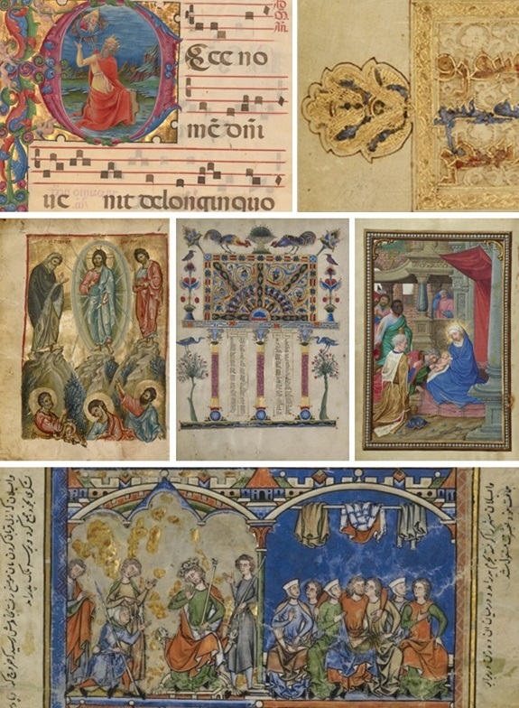 Getty manuscripts on view in the exhibition Traversing the Globe through Illuminated Manuscripts