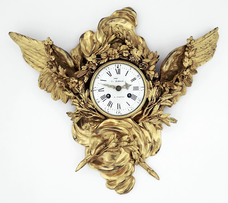 18th-Century Clock Reminds Us That Time Flies