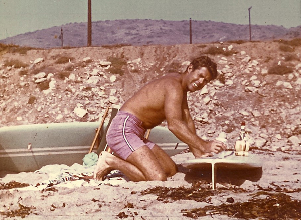 Harry Gesner at Leo Carrillo Beach