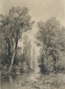 Maxime LaLanne / Castle Overlooking a River