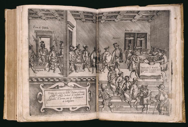 Ordine che si tiene in sede vacante…) in M. Bartolomeo Scappi,Opera