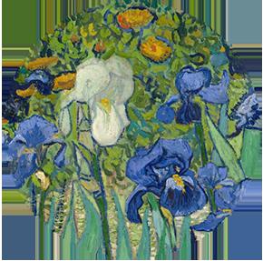 Irises / Vincent van Gogh
