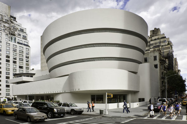 The Guggenheim and I Are Spirals in a World of Squares