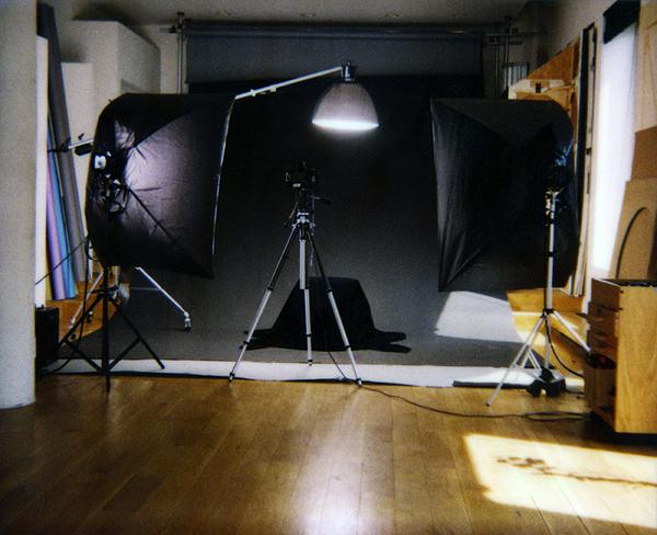 Mapplethorpe studio / English