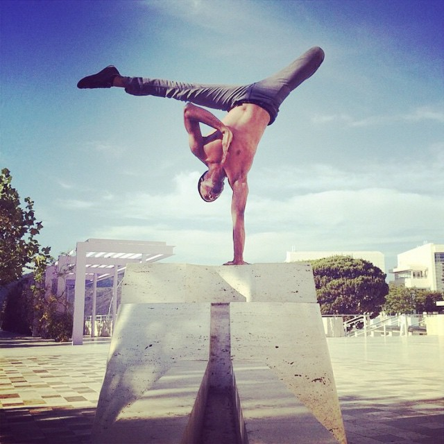 Cyberyoga at the Getty Center / Lamonte Goode