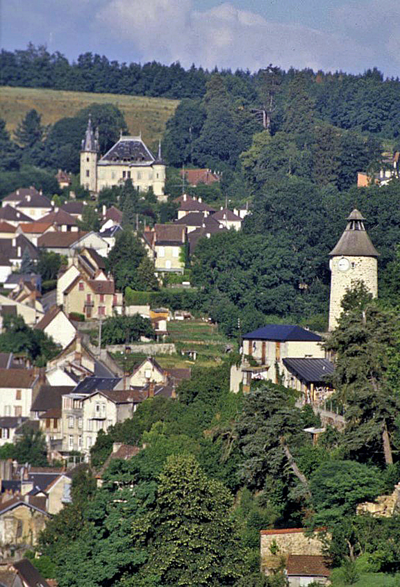 Aubusson, France, where my grandfather was born. Aubusson is known for its tapestry weaving tradition, and the line of weavers in my family goes back at least five generations. Photo: Yadin Larochette