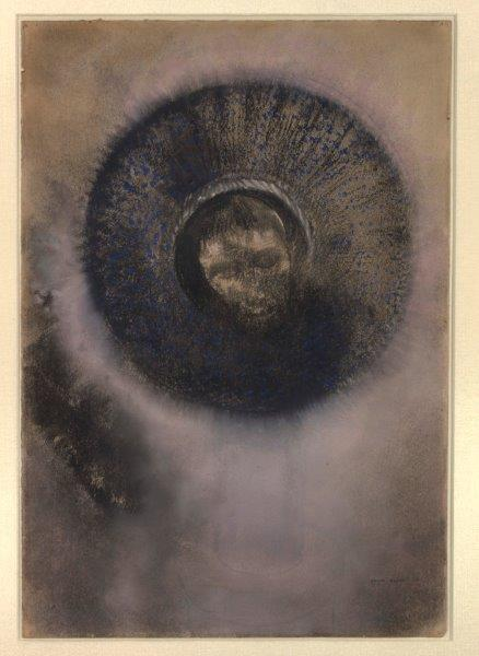 Head within an Aureole / Odilon Redon