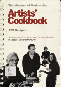 Cover of Artists' Cookbook / Museum of Modern Art