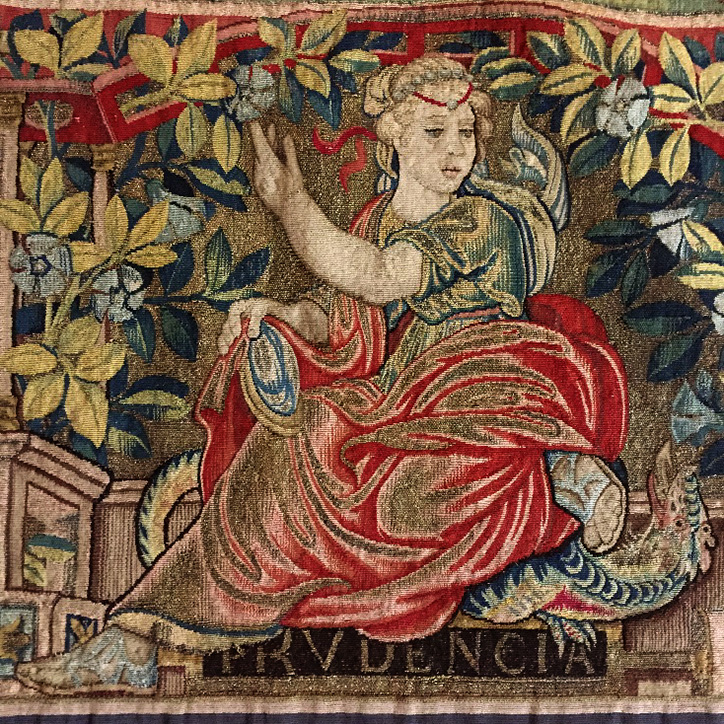Prudence, one of the personifications of the cardinal virtues