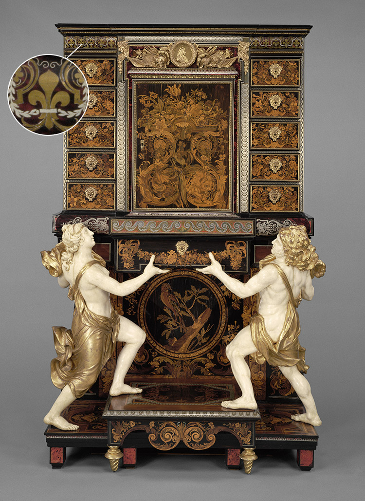 Cabinet on Stand / André-Charles Boulle