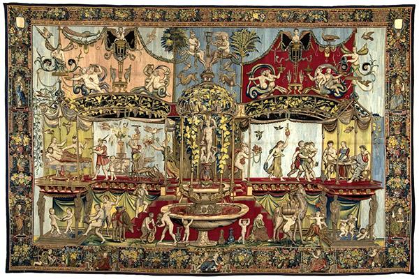 Triumph of Bacchus / design by Giovanni da Udine under the supervision of Raphael