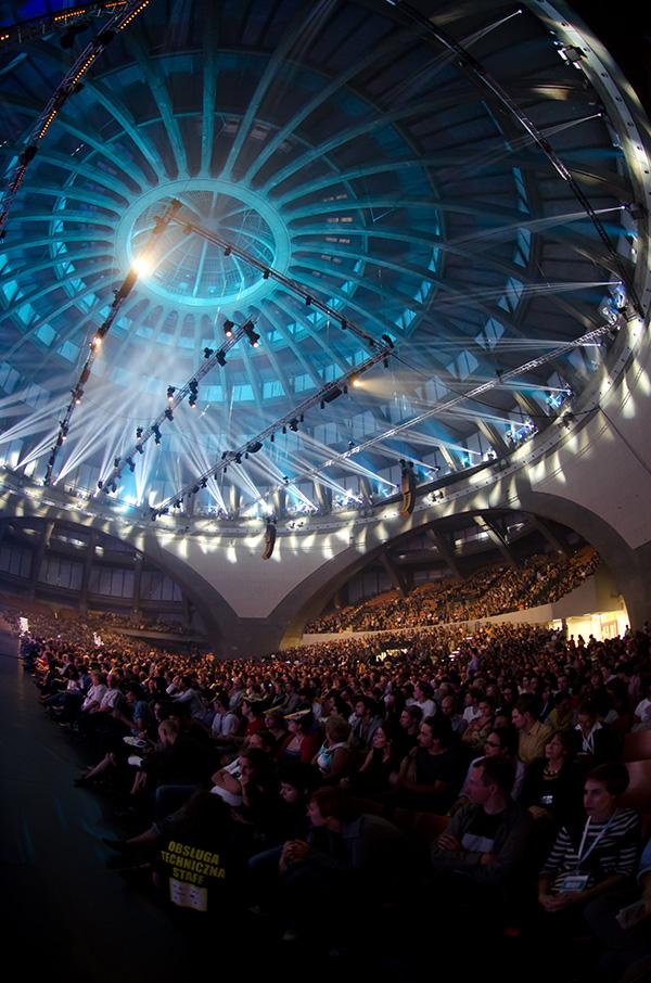 Interior of Centennial Hall during European Congress of Culture, 2011