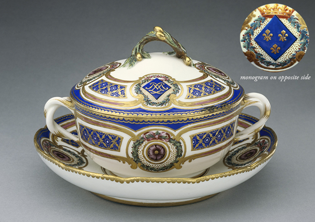 Lidded Bowl on Dish / Sèvres Manufactory