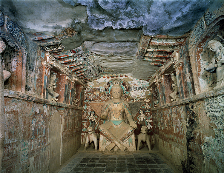 Cave temples of Dunhuang, interior of Cave 275