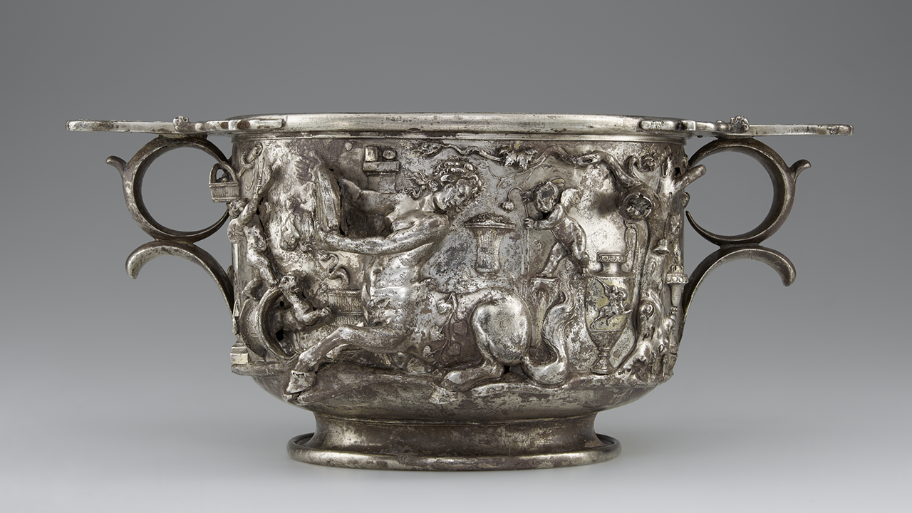 VIDEO: The Making of a Roman Silver Cup