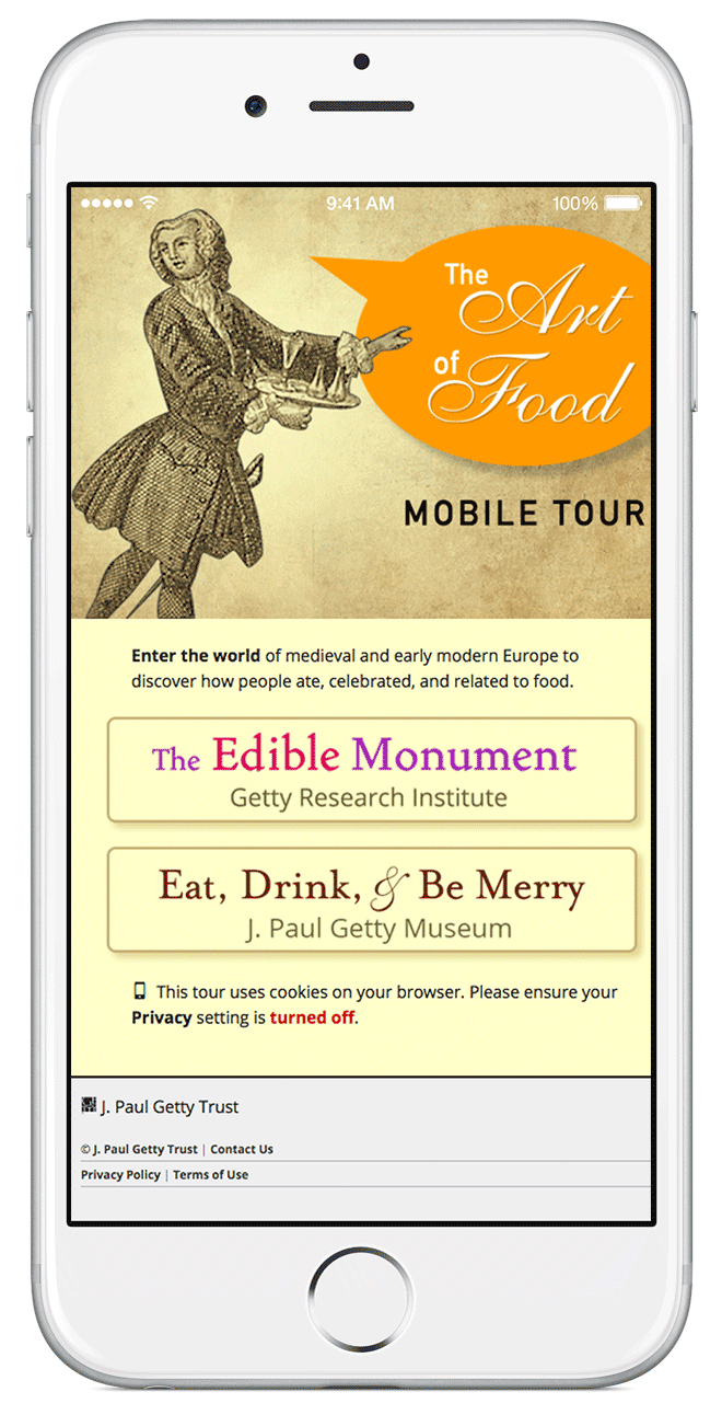 The Art of Food mobile tour