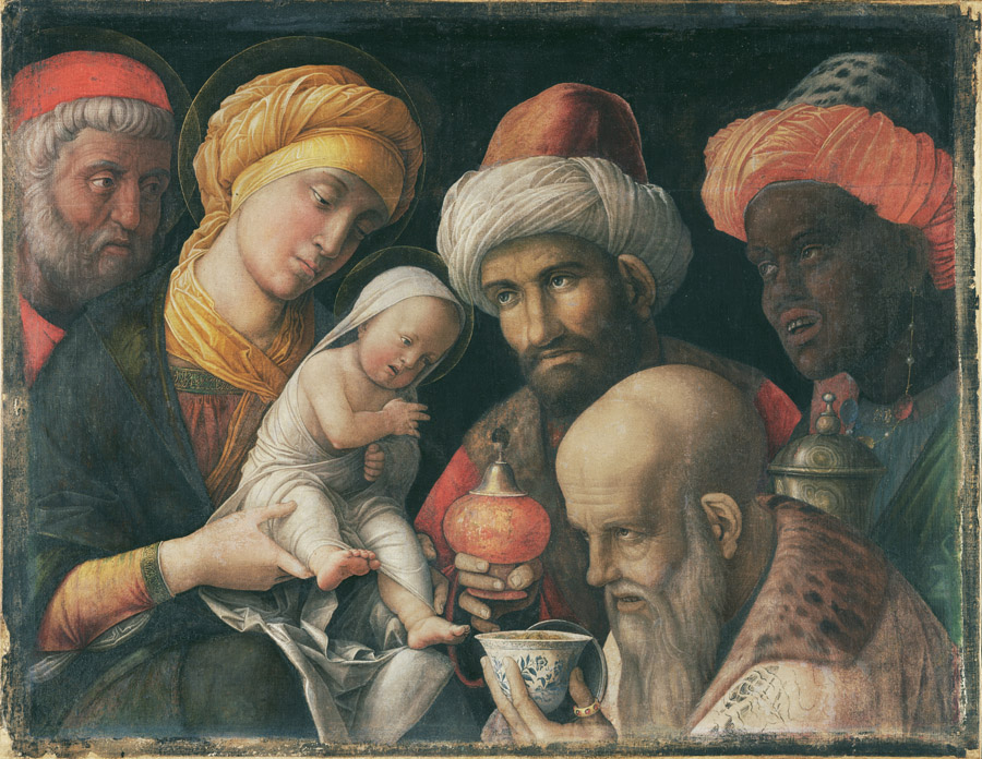 Adoration of the Magi / Andrea Mantegna