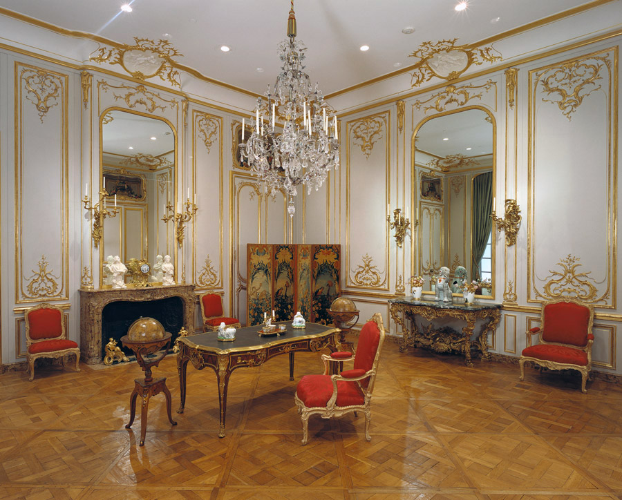 Rococo Paneled Room / French
