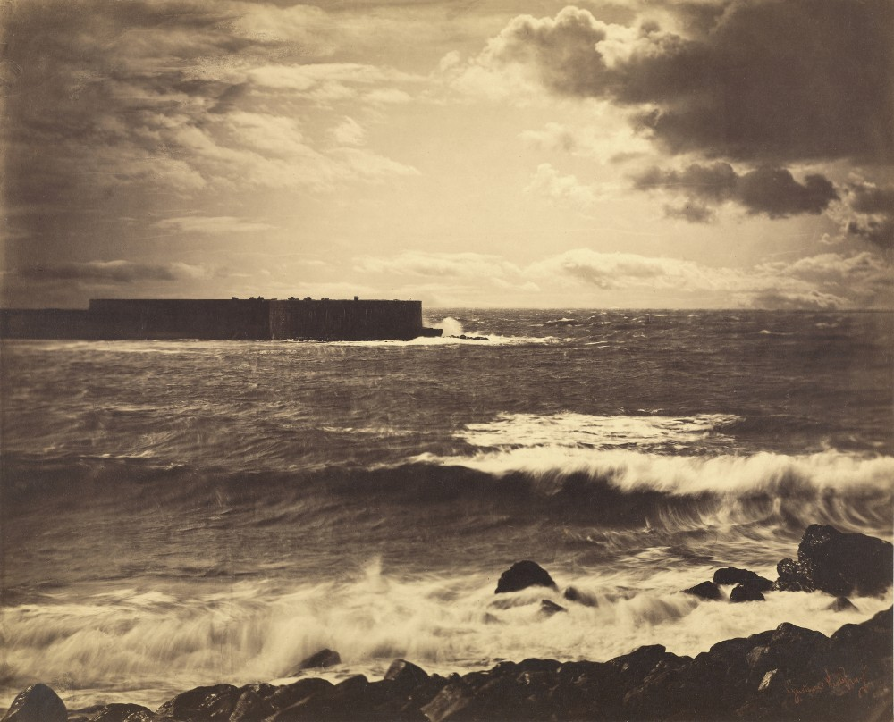 The Great Wave, Sète / Gustave Le Gray