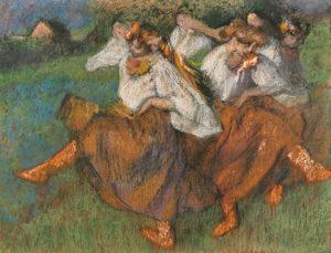 Russian Dancers / Edgar Degas
