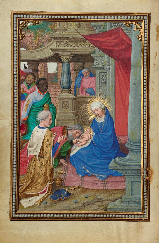The Adoration of the Magi / Simon Bening