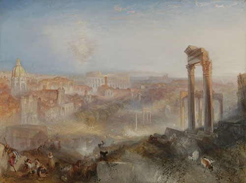 Modern Rome – Campo Vaccino / Joseph Mallord William Turner