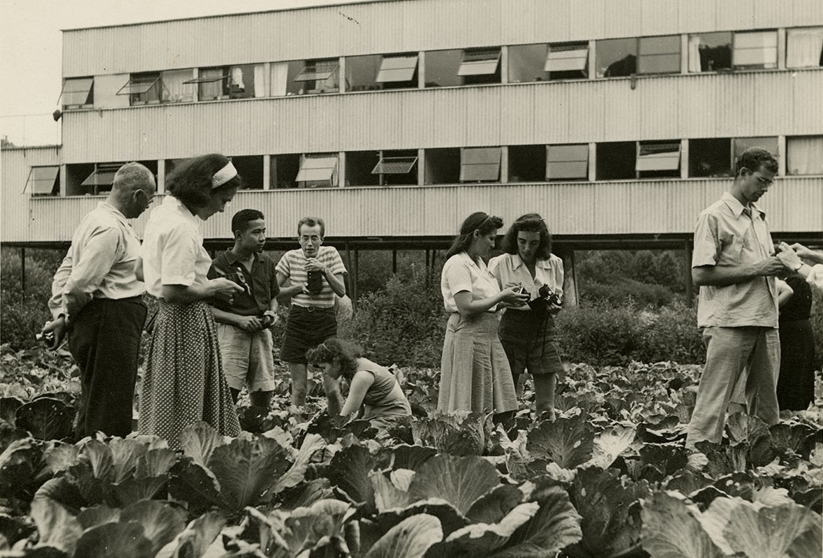 Photography class in Cabbage Patch, n.d.