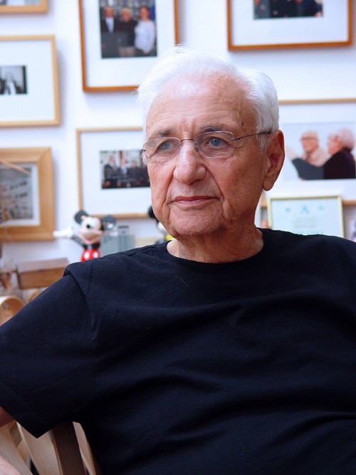 Frank Gehry portrait photo