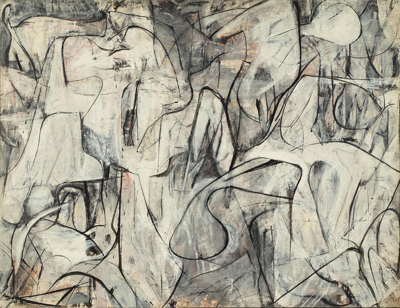 <em/>Yardstick, 1948, Pat Passlof