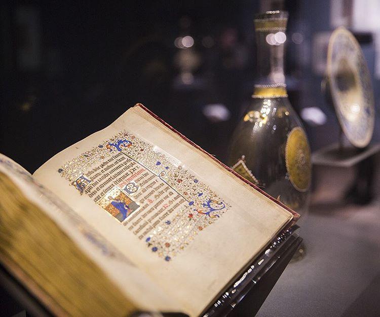 Traversing the Globe through Illuminated Manuscripts, gallery view