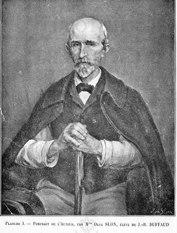 Portrait of César Jacquème.