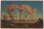 <em/>Evening (The Parish Priest), 1842–43, Théodore Rousseau. Oil on panel