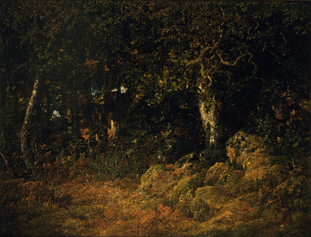 The Rock Oak (Forest of Fontainebleau), about 1860–67, Théodore Rousseau.