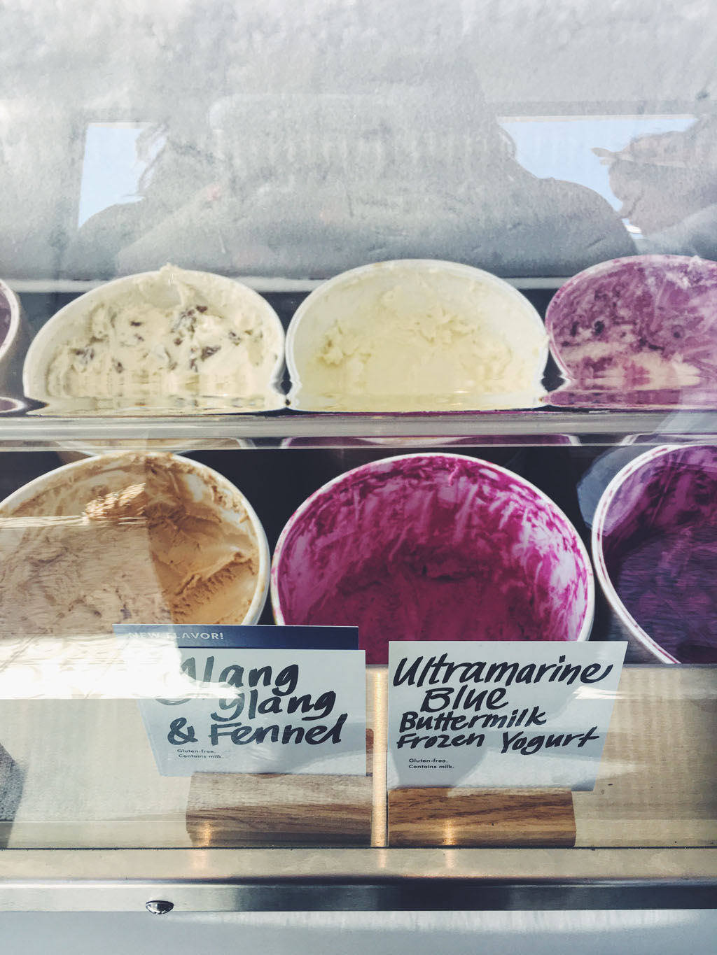 Some of Jeni's Splendid Ice Creams. Photo: Allison Ramirez. © J. Paul Getty Trust. All rights reserved