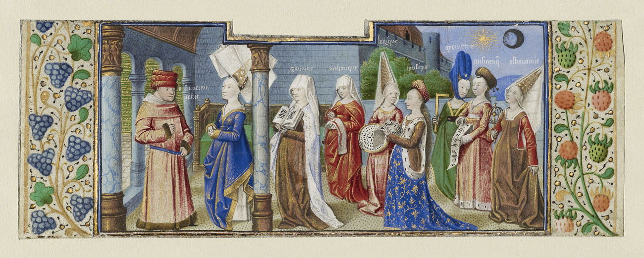 The Seven Liberal Arts and Boethius