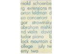 Recital of Modern and Contemporary Music, David Tudor, pianist, Abraham Mishkind, violinist, Black Mountain College, Black Mountain, North Carolina, July 22, 1953