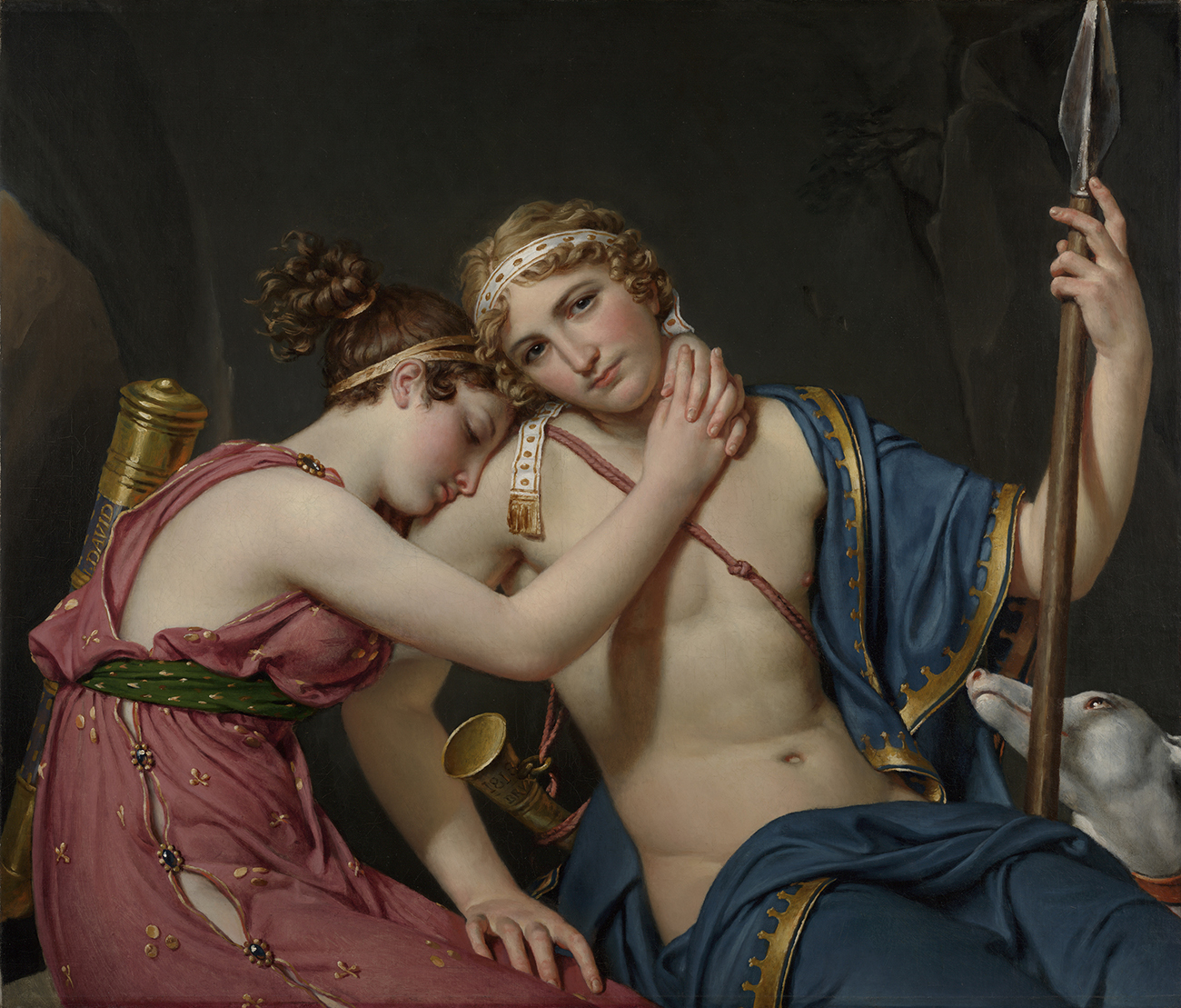 The Farewell of Telemachus and Eucharis / David