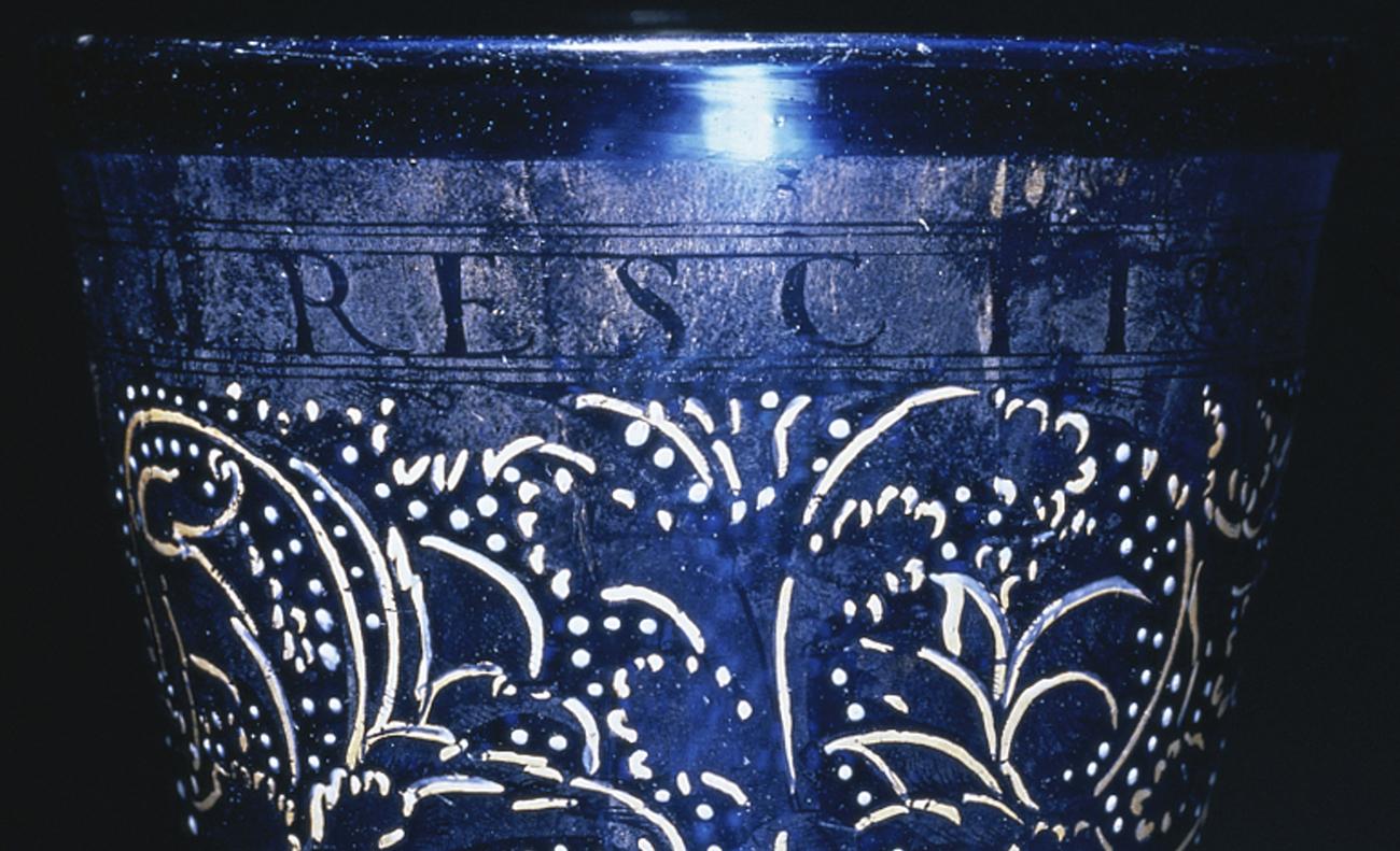 Goblet (detail) / Italian