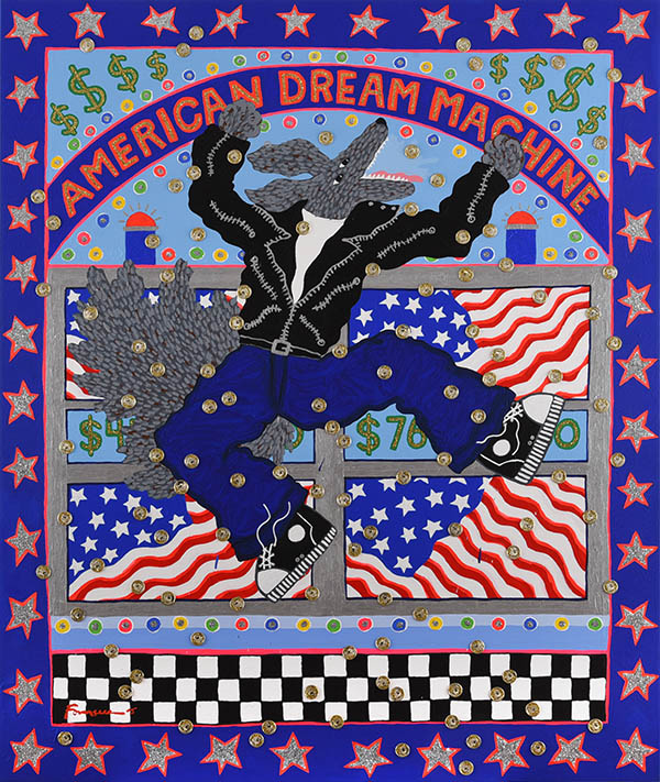 American Dream Machine / Harry Fonseca