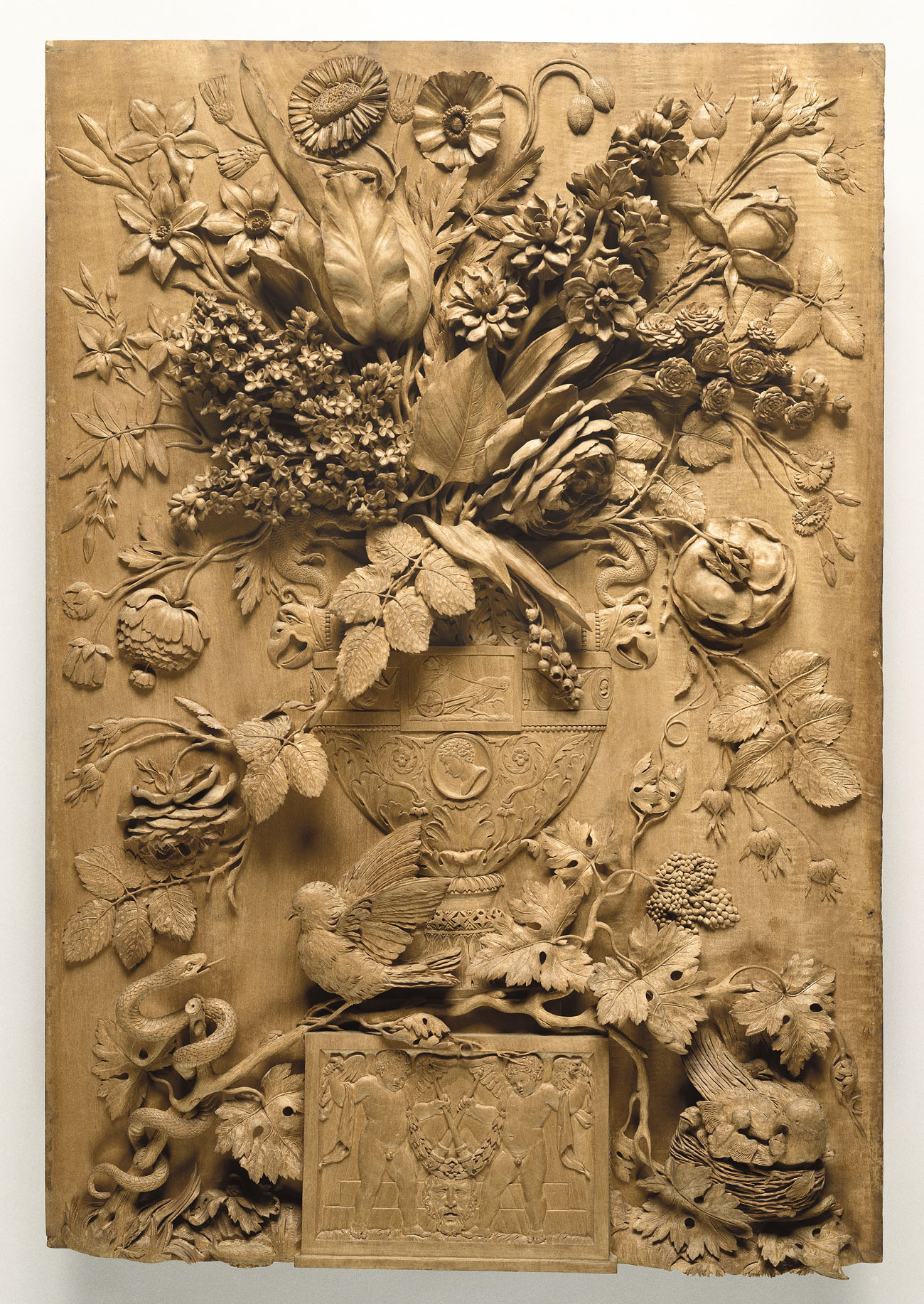 Carved Relief on poetry for kids