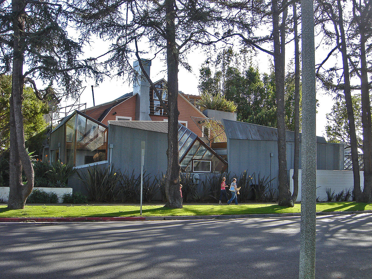 Frank Gehry house residence Santa Monica