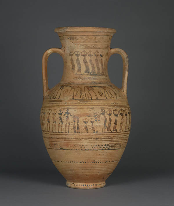 Storage Jar with a Funerary Scene / attributed to the Painter of Paris CA 3283