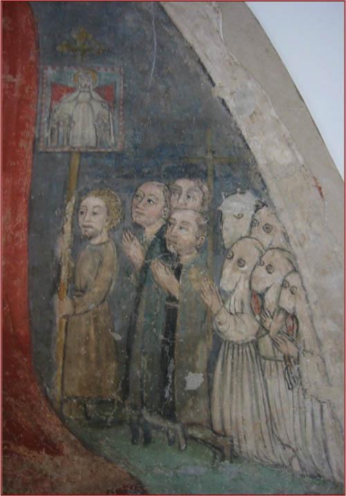 Madonna della Misericordia (detail) / unknown