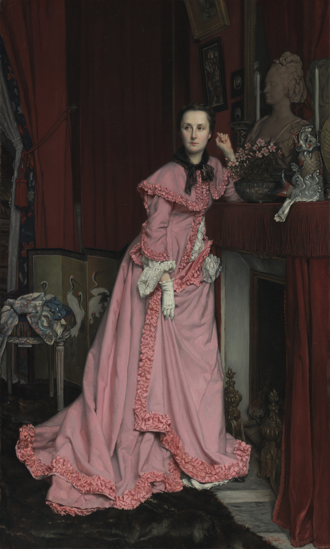 Portrait of the Marquise de Miramon / Tissot