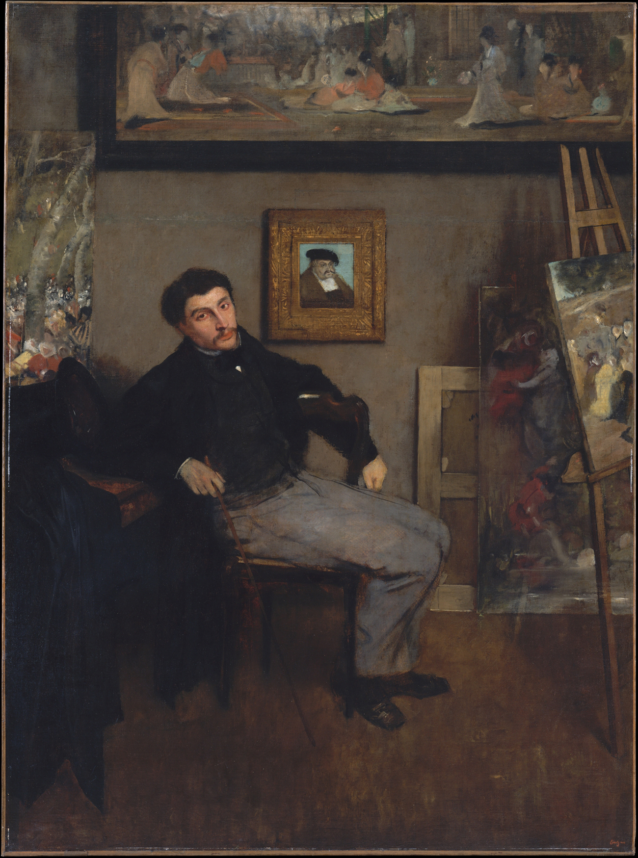 James-Jacques-Joseph Tissot / Degas