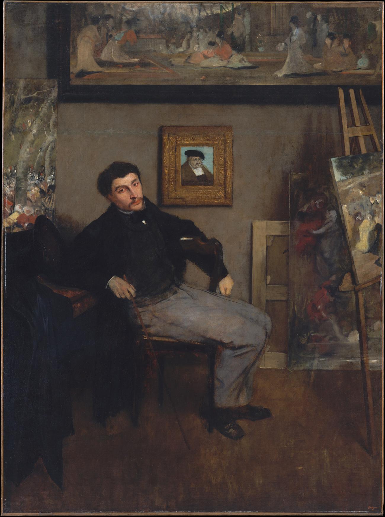 James-Jacques-Joseph Tissot / Degas
